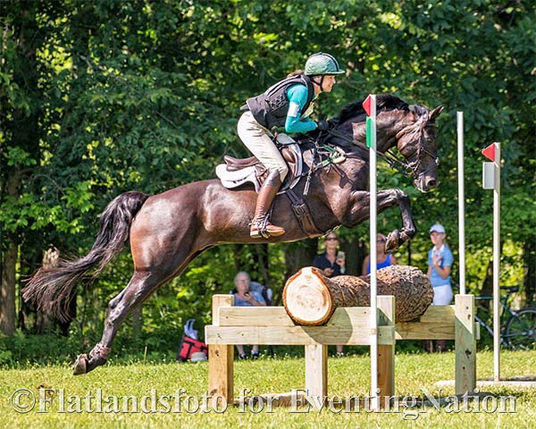 Who Jumped It Best? Larkin Hill H.T. Prelim Trakehner Edition