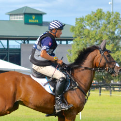 Boyd Martin and Long Island T. Photo by Leslie Wylie.