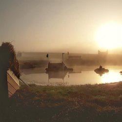 Sunrise at Plantation Field. Photo by Charlie Mann.