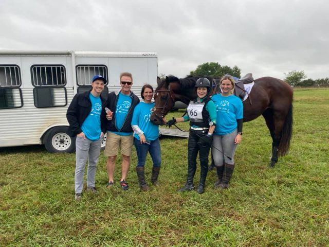 Nupafeed Weekend Winners: One Big Happy Eventing Family