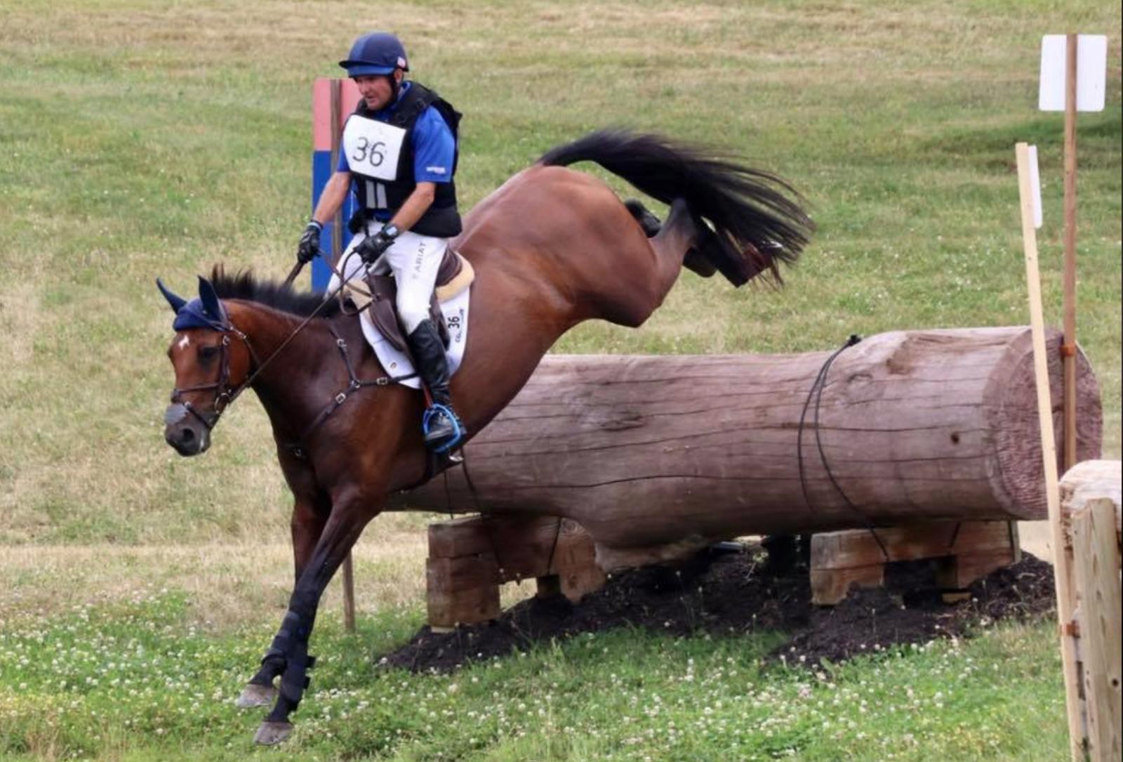 Phillip Dutton leva duas vitórias avançadas no Horse Park de New Jersey I HT | Nação de Eventos 4