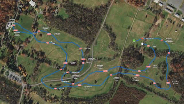 Visualize o Curso Avançado de Cross Country em Morven Park |  Nação de eventos culturais 1