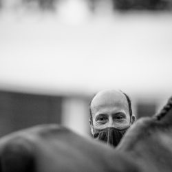 Tim Price and Ringwood Sky Boy. Photo by Tilly Berendt.