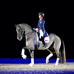 Charlotte Dujardin & Valegro. Photo by Rose Lewis/Daydream Equine Art.