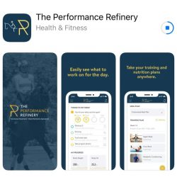 The equestrian-focused Performance Refinery app.