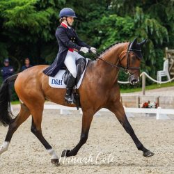 Laura Collett and London 52 lead the way once again in the first phase. Photo by Hannah Cole Photography.