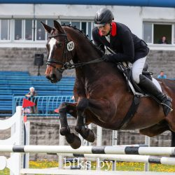 Alexandr Fominov and Martini. Photo courtesy of the Belarus Equestrian Federation.