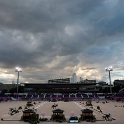 The Baji Koen Equestrian Park was the venue for the majority of the equestrian events during the Tokyo 2020 Olympic and Paralympic Games. Photo by FEI/Christophe Taniere.